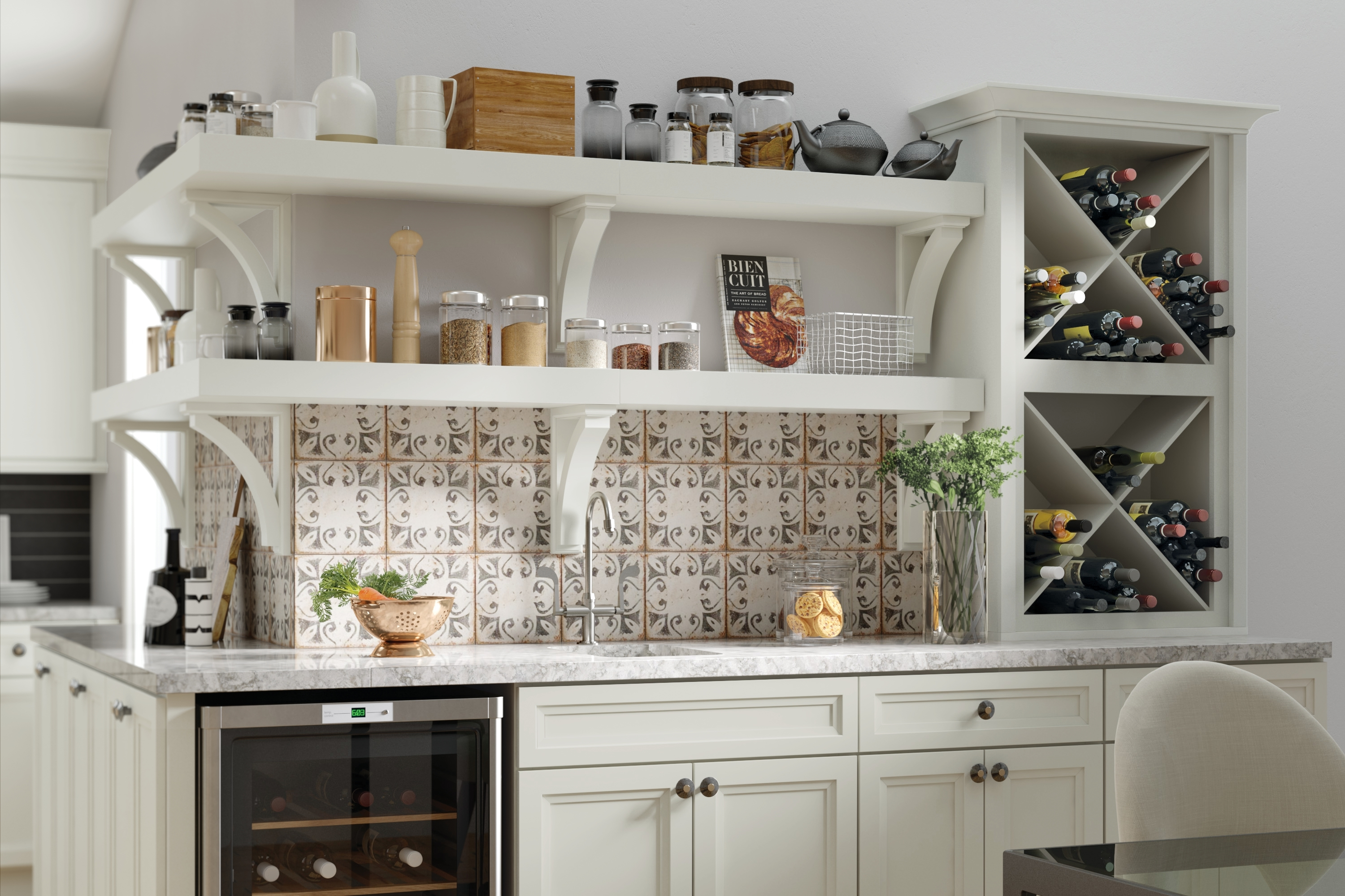 Country Kitchen Shelves 6 Design Ideas For Country Kitchens