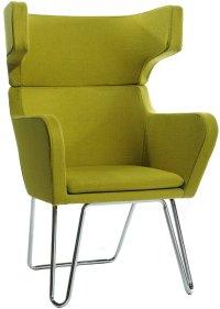 Alan Green Living Room Chair - Green Lounge Chair ...