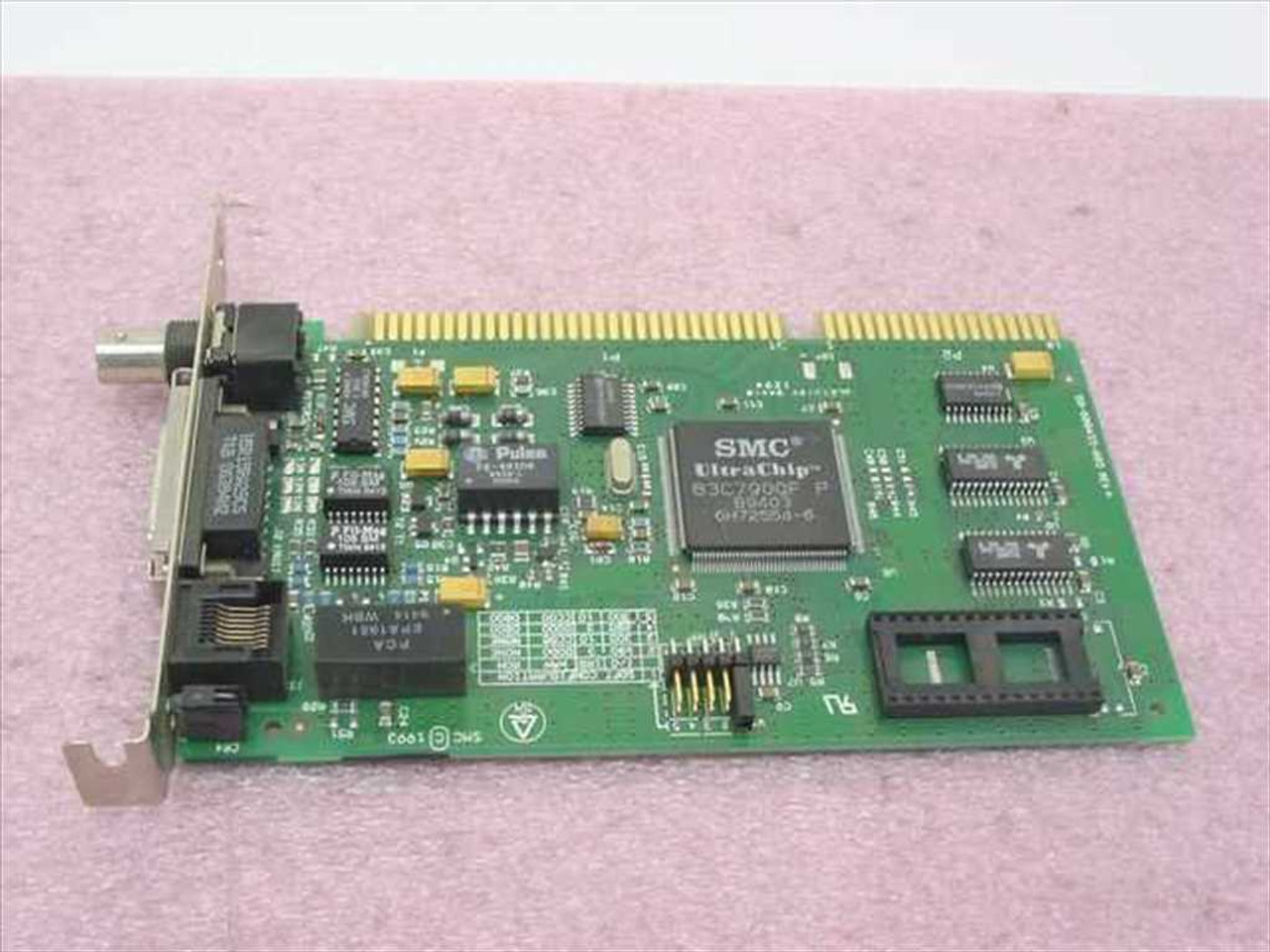 Smc 8216c ethernet isa rj45 aui bnc network card