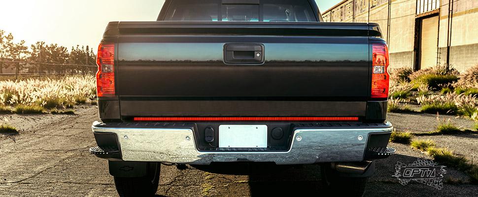 Redline Triple LED Tailgate Brake Light Bar with Reverse