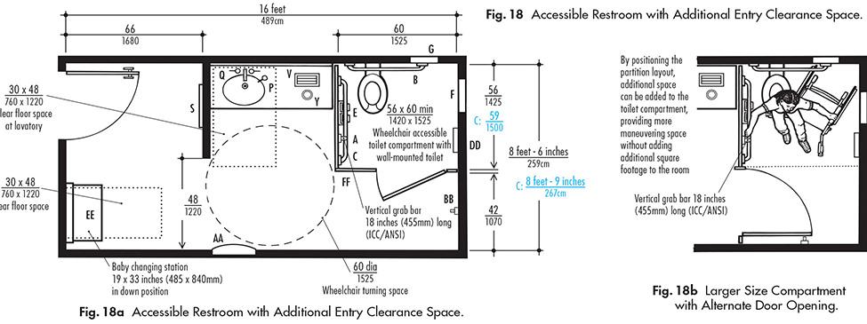 Ada Bathroom Toilet Clearance ada compliant bathroom vanity