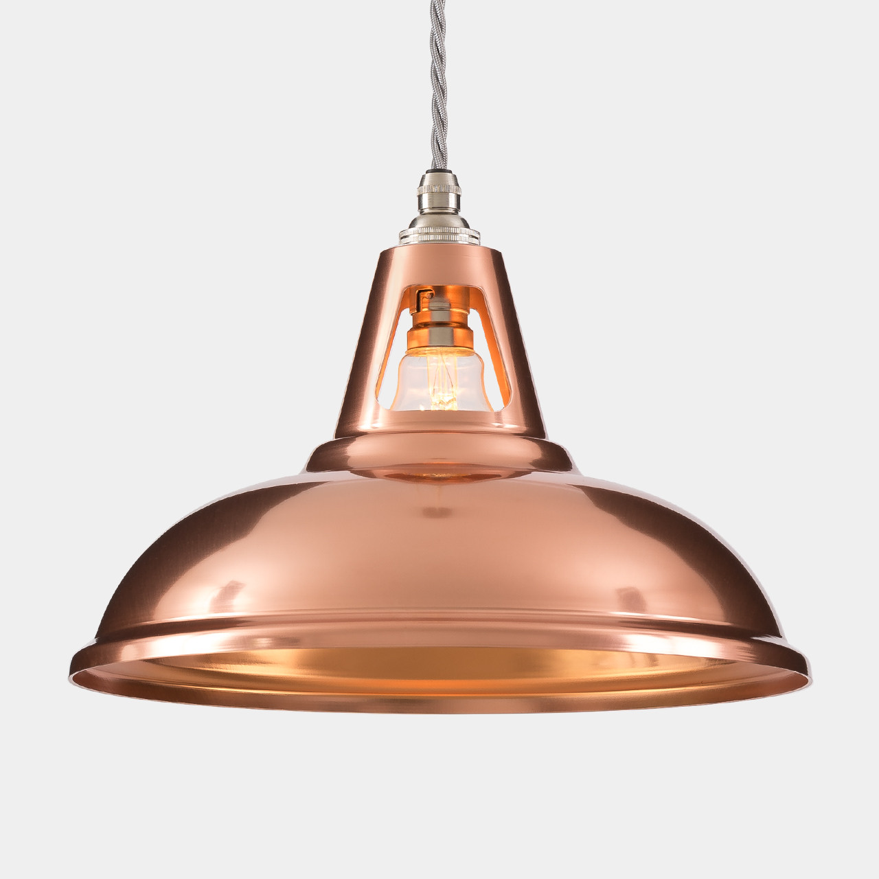 Copper Lighting Pendant Coolicon Industrial Copper Pendant Light Artifact Lighting