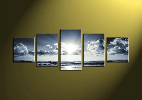 Medium Of 5 Piece Canvas Art
