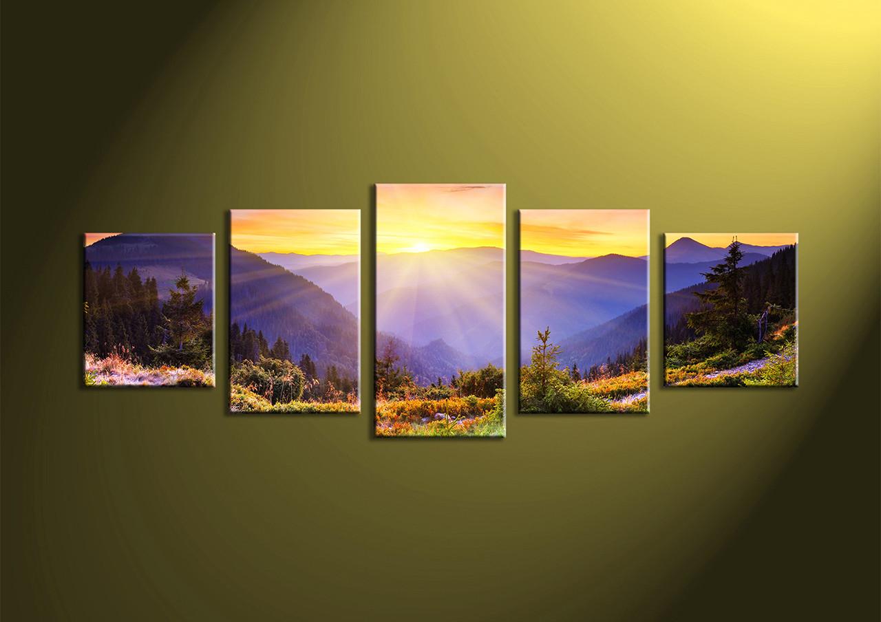 Five Piece Canvas Wall Art - Elitflat