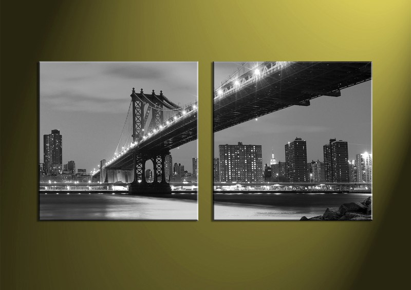 Large Of Black And White Canvas Art