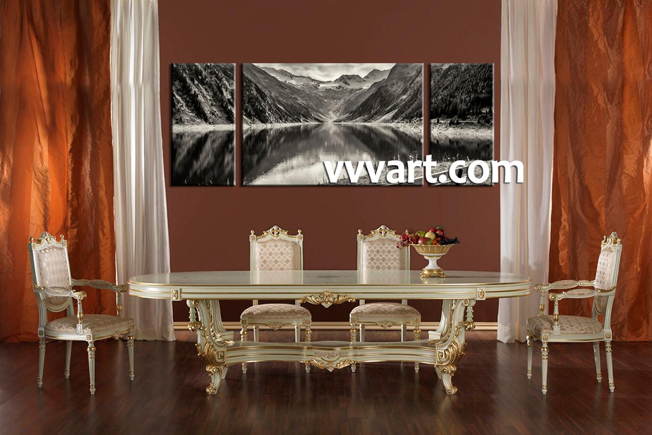 Black Art Dining Room
