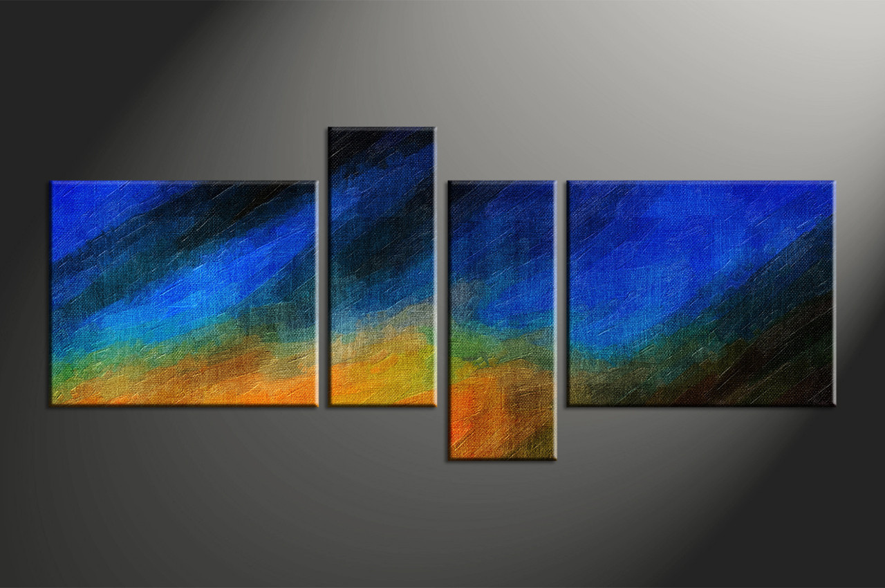 Enamour Home Piece Canvas Wall Abstract Group Abstract Larges Piece Abstract Blue Oil Paintings Canvas Wall Art Abstract Wall Art Bathroom Walls Abstract Wall Art Large Metal art Abstract Wall Art