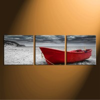 3 Piece Huge Canvas Print, Black and White Canvas Wall Art ...