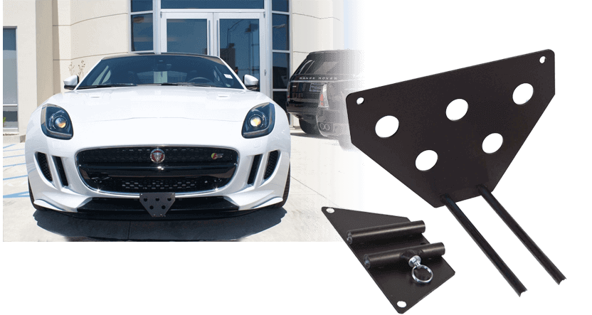 Sto N Sho Removable Quick Release Front License Plate Bracket