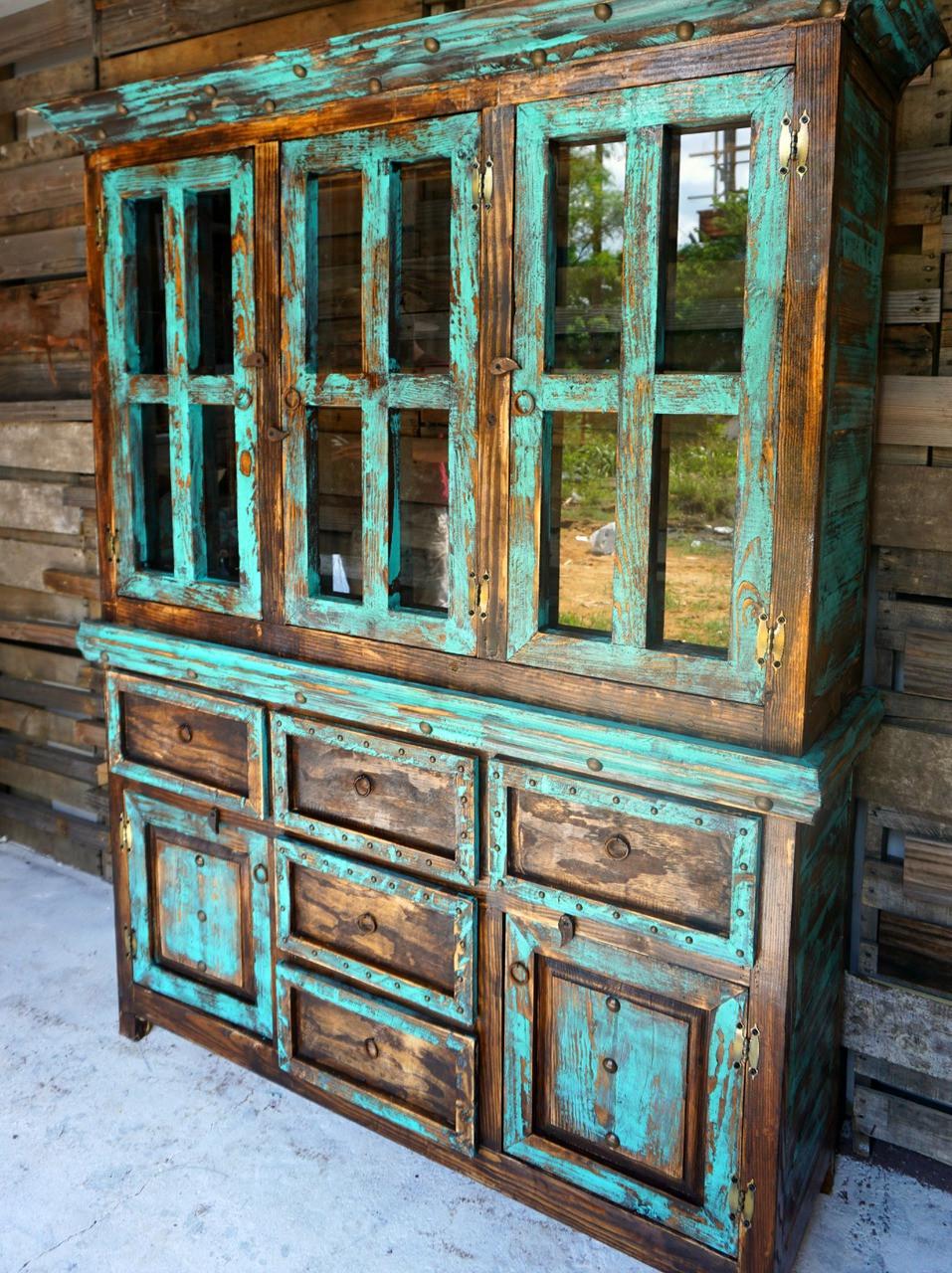 Home rustic furniture san antonio rustic hutch