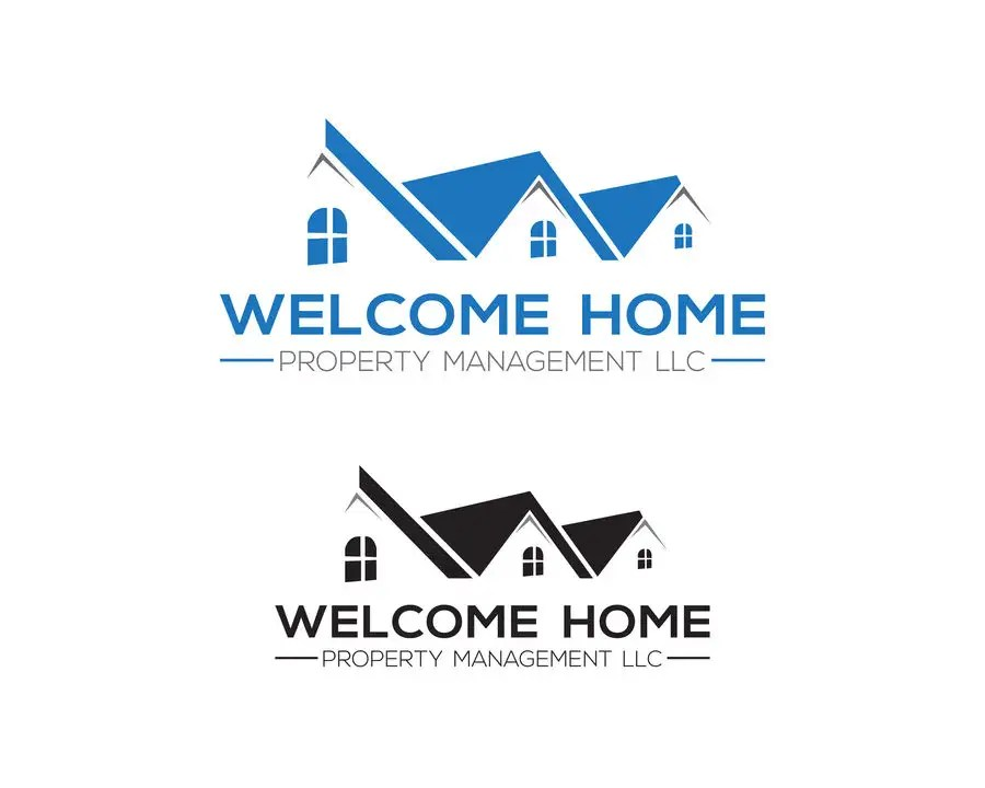 Entry #56 by Ovi333 for Design a Logo for Welcome Home Property