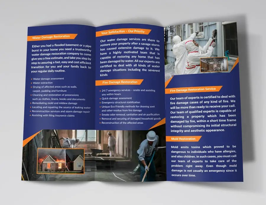 Entry #32 by cfbutterfly for Design a tri-fold flyer Freelancer