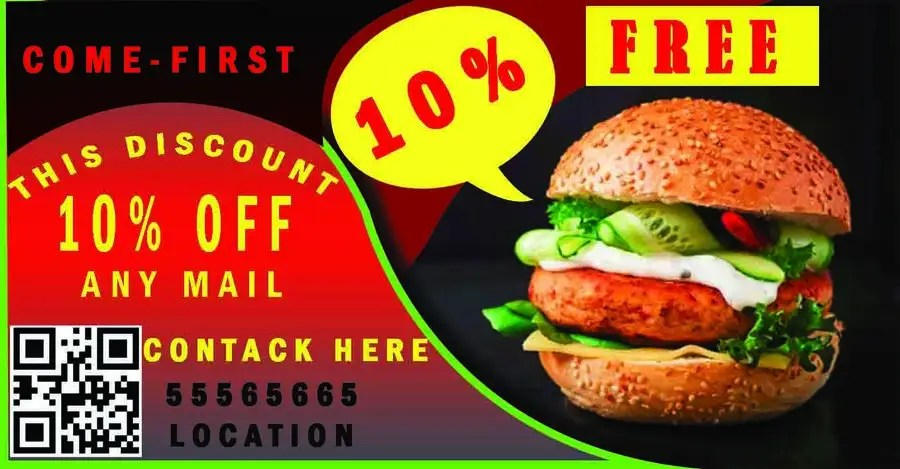 Entry #7 by rayhanul7777 for Coupon flyer graphic design Freelancer