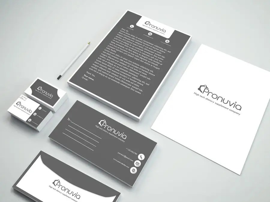 Entry #40 by MDFoyezUddin for Design Business Card, Letterhead, and