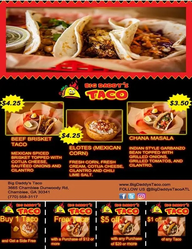 Entry #6 by Tyra07 for Design a Flyer and a coupon for a restaurant