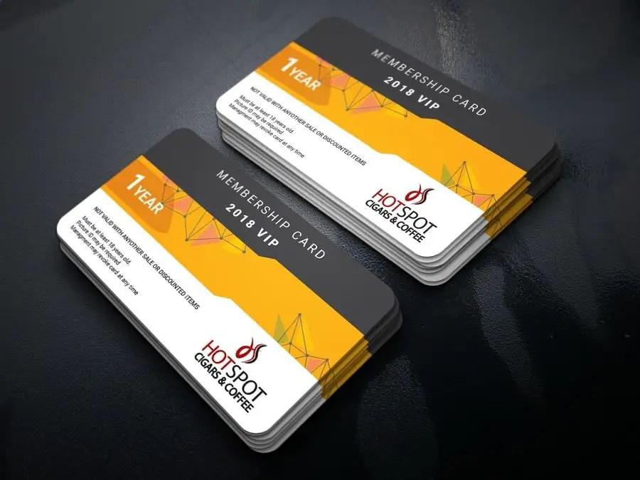Entry #59 by mahmuduljony for Design a Membership Card Freelancer