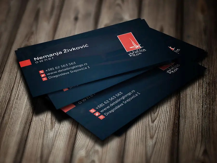 Entry #370 by theMamun for Design a Business Card for car detailing