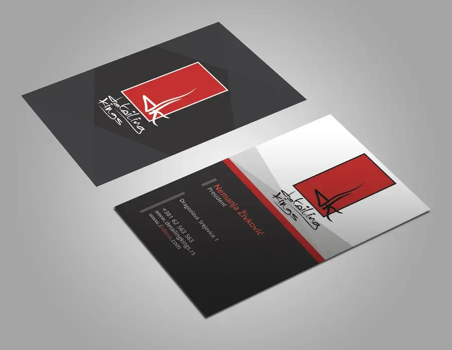 Entry #498 by sulaimanislamkha for Design a Business Card for car