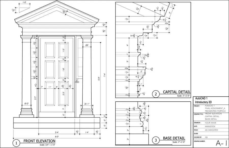 Entry #3 by gakledesign for AutoCAD Draftsman Freelancer