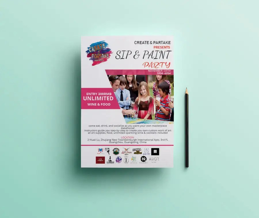 Entry #52 by MOMODart for Make an Event Flyer Freelancer