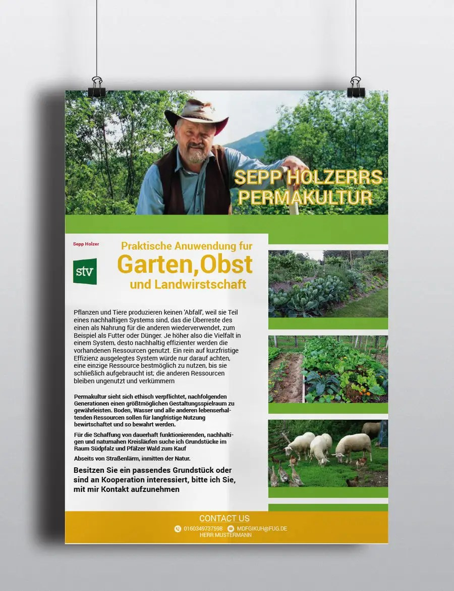 Permakultur Garten Was Ist Das Entry 39 By Rakib2375 For Design A Flyer For Permakultur Project