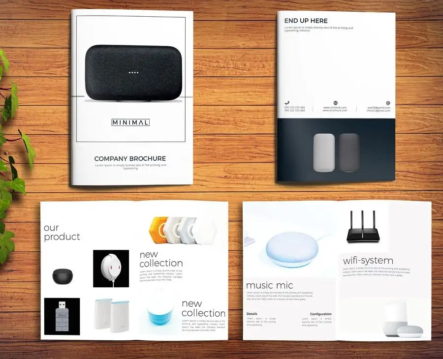 Entry #3 by hipzppp for Six - 1 Page Brochures Freelancer