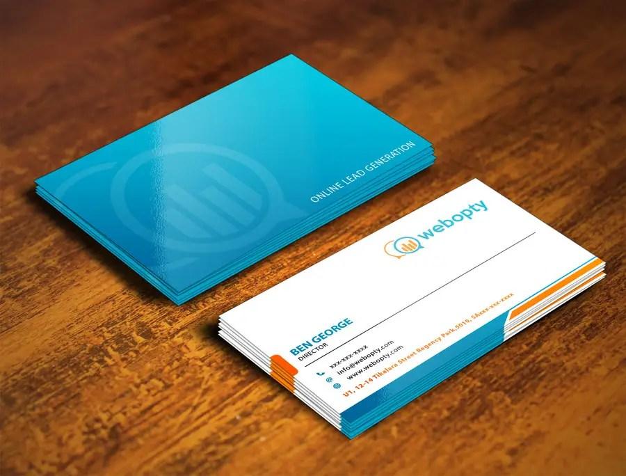 Entry #9 by shyRosely for Design Business Cards For Digital