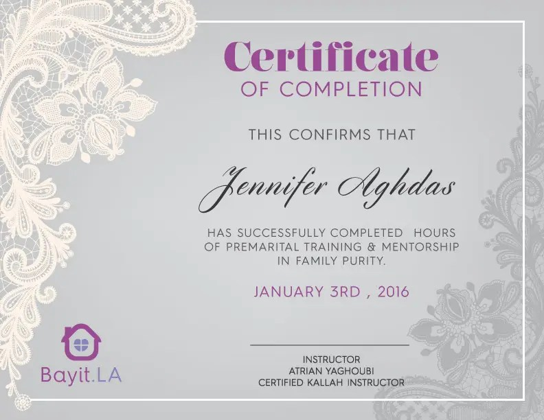 Entry #3 by valeriapire for make a certificate of completion