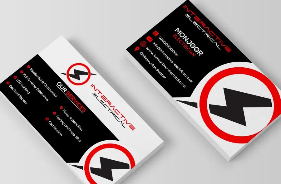 Design a Business Card + A5 Flyer For My Electrical Business