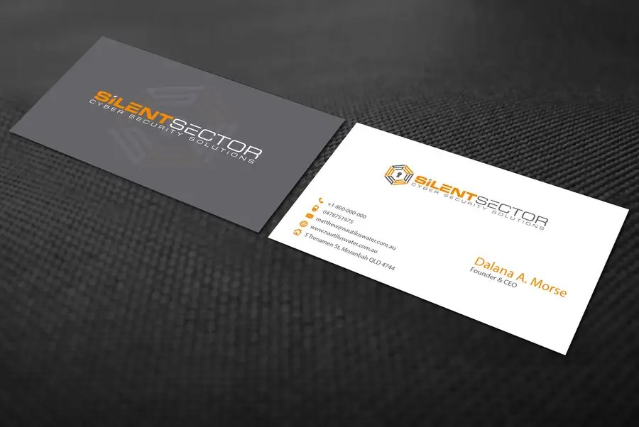 Entry #53 by ALLHAJJ17 for Business Cards and PPT Template for Cyber
