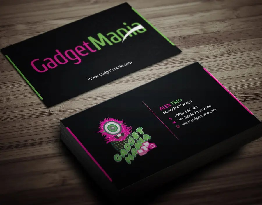 Entry #16 by adarshdk for Design Boutique  Catchy Business Card for - on line business cards