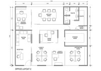 Autocad Layout - Office | Freelancer