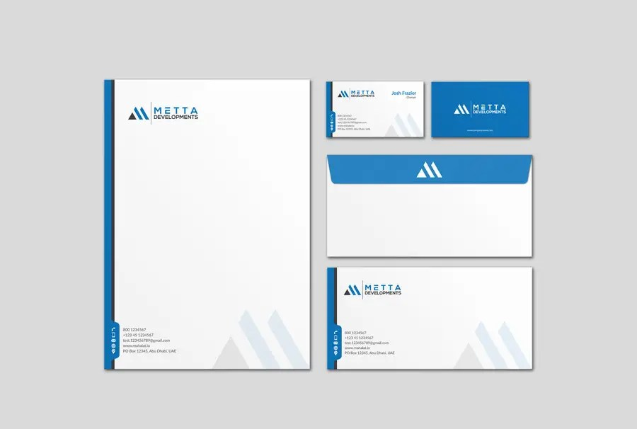 Entry #41 by mdreyad for Design our Stationary Suite Business Cards