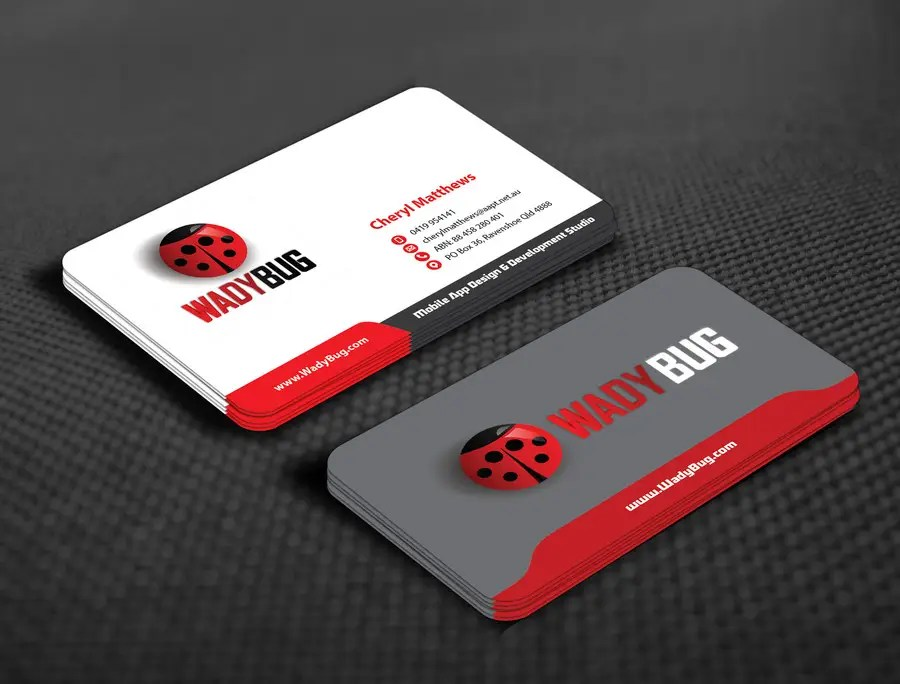 Entry #97 by mamun313 for Design business card for mobile App