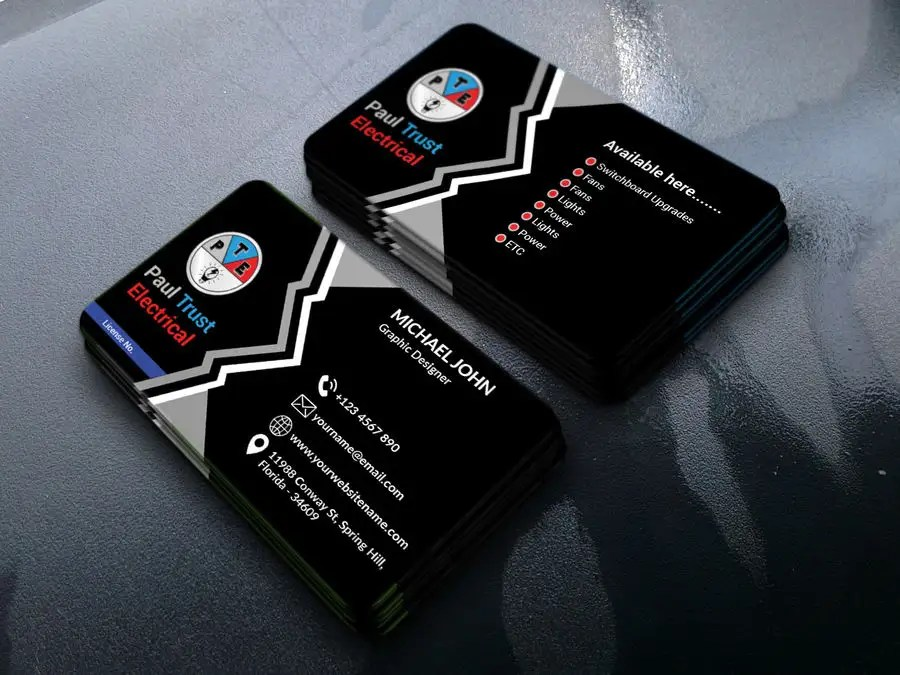 Entry #122 by ASalam18 for Design some Business Cards For an