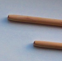 Wooden Pipe Stem Eight Inch