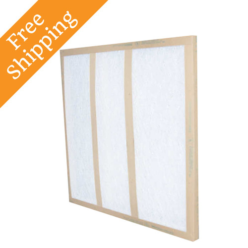 24x30x1 Air Filter Glasfloss Gds Series Disposable Box Of 12
