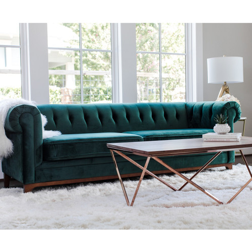 Chesterfield Sofa Joanna Gaines Emerald Sofa Verdante Emerald Green Sofa For Affordable