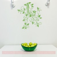 Floral1 Flower Leaf & Vine Wall Art Decals Stickers 15x16