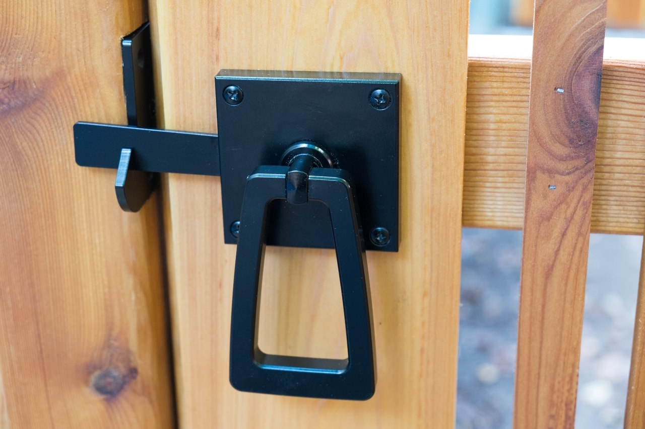 Gate Hardware Modern Gate Hardware Package Double Gates With Tapered Ring