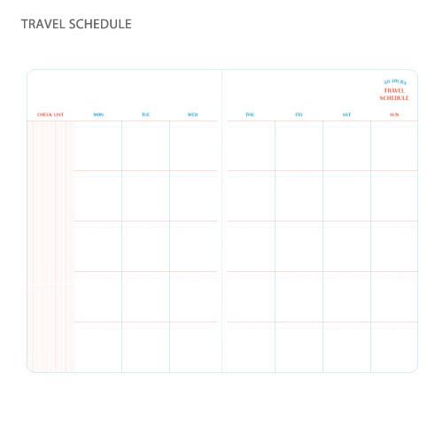 trip schedule planner - Guvesecurid