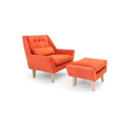 Grand Ottoman Kardiel Stuart Chair Ottoman Stuart Chair Coral Kardiel Chair