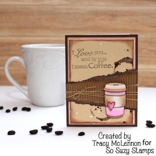 Medium Of Coffee Cup Heart