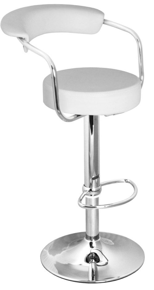 Medium Of White Bar Stools