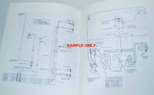 el camino wiring diagram manual 1967 parts