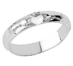 Small Of White Gold Wedding Rings