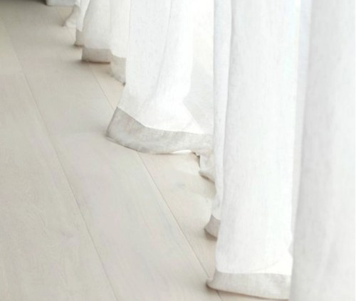 Medium Of White Sheer Curtains