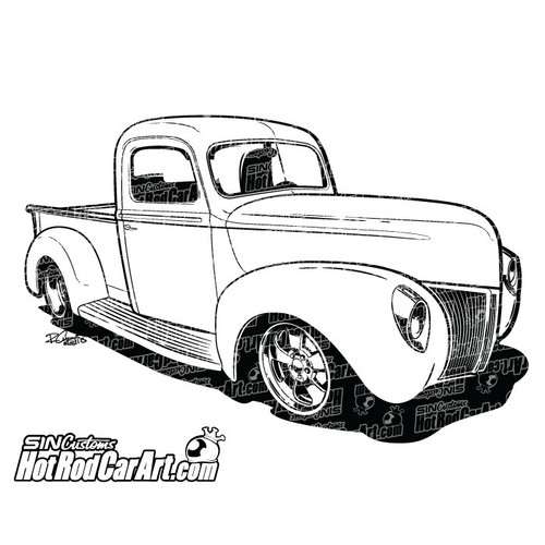 1950 ford truck hot rod