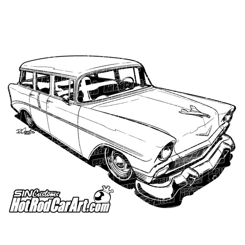 1957 chevy bel air station wagon