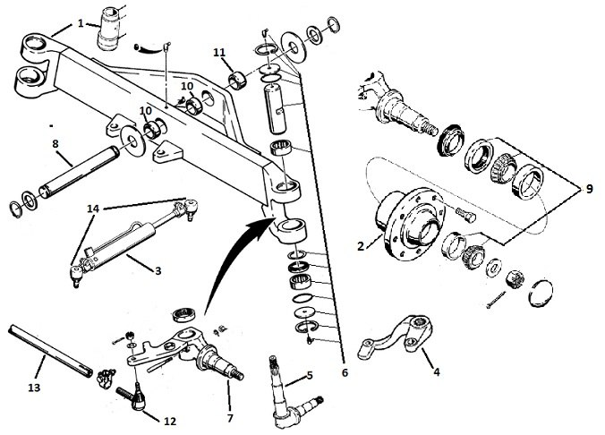 wiring diagram for a 480b case backhoe